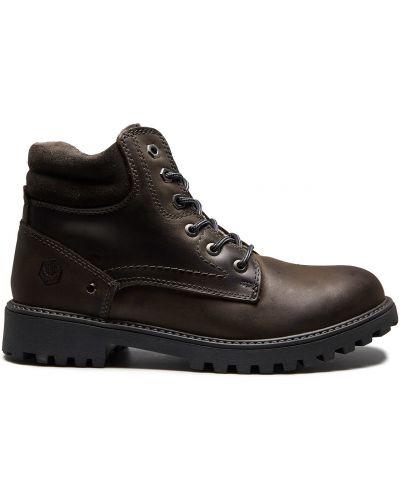 Коричневые ботинки Lumberjack