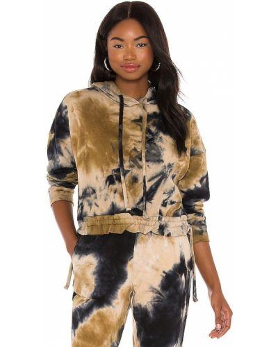 Brązowa bluza z kapturem bawełniana Blanknyc