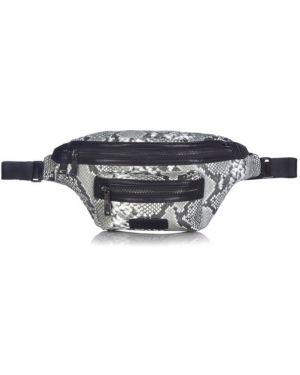 Czarna torebka z printem Tiba + Marl