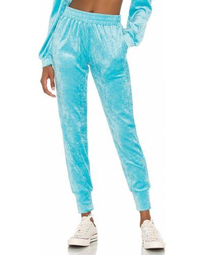 Синие джоггеры с карманами с манжетами Generation Love