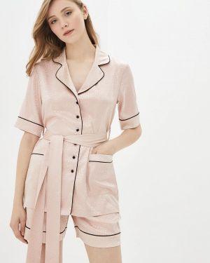 Пижамная розовая пижама German Volf