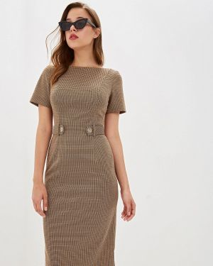 Платье футляр осеннее Ruxara