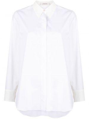Biała koszula bawełniana z długimi rękawami Dorothee Schumacher