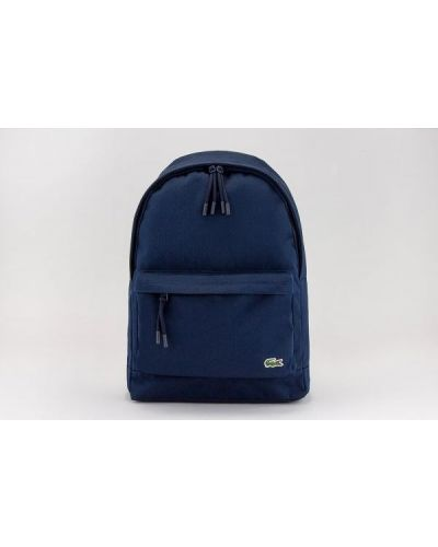 Plecak na laptopa - granatowy Lacoste