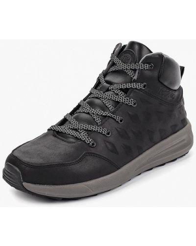Ботинки осенние кожаные высокие Tesoro