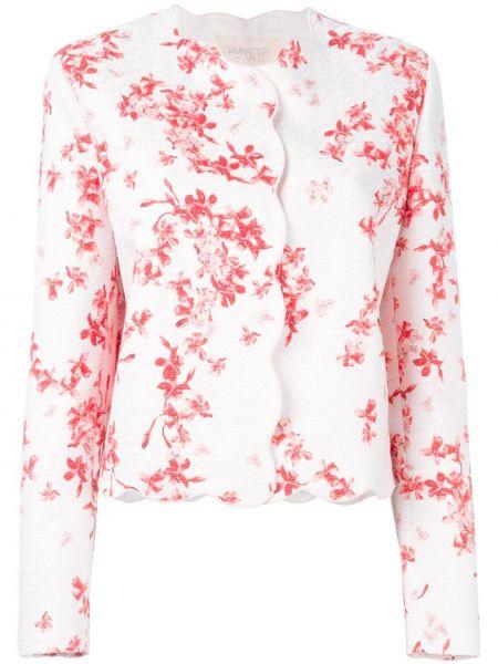 Розовый пиджак из вискозы Giambattista Valli