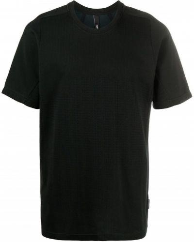 Czarny t-shirt bawełniany krótki rękaw Byborre