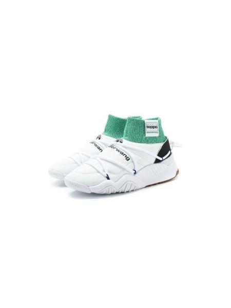 Белые текстильные кроссовки с подкладкой Adidas Originals By Alexander Wang