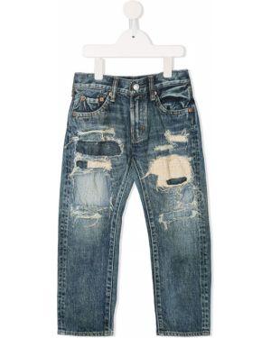 Синие джинсы Denim Dungaree