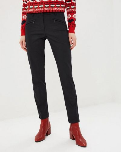 Черные брюки повседневные Gerry Weber