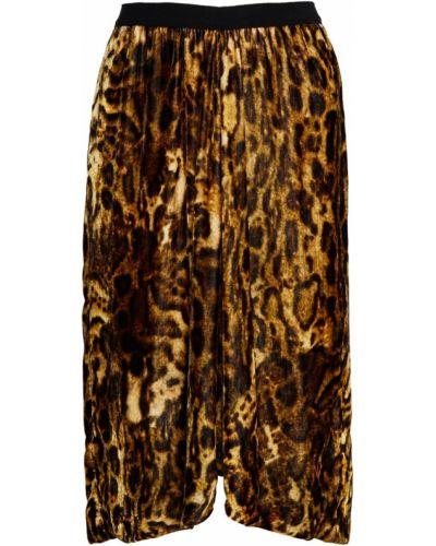 Юбка миди леопардовая шелковая Isabel Marant