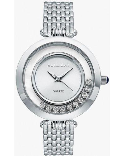 Часы серебряный Sunlight