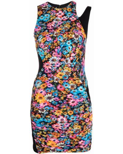 Шелковое платье мини - розовое Stella Mccartney