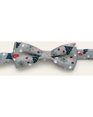 Krawat z wzorem szary Only & Sons