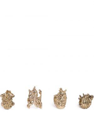 Złoty pierścionek L'objet