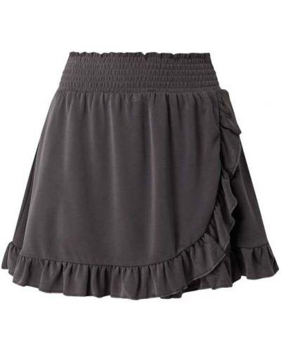 Spódnica mini rozkloszowana z falbanami Review