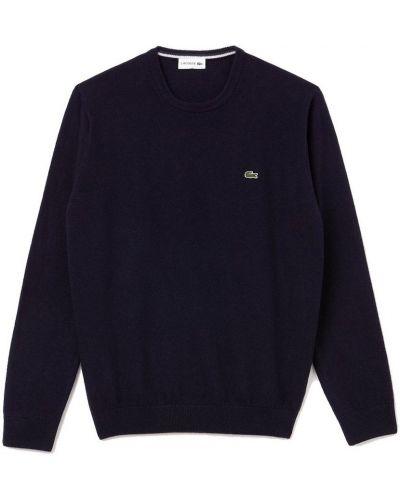 Sweter wełniany - zielony Lacoste