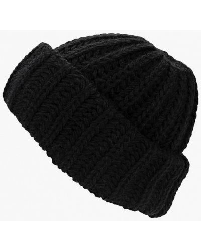 Черная шапка осенняя Mascotte