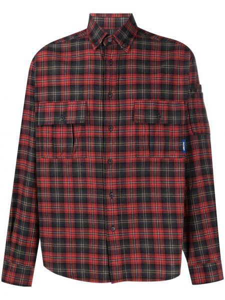 Рубашка с заплатками на пуговицах Rassvet