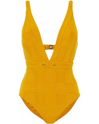 Желтый купальник с чашками с подкладкой Jets Australia By Jessika Allen