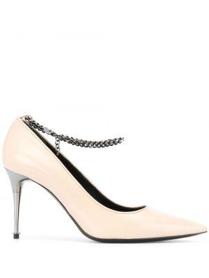 Кожаные туфли на каблуке на высоком каблуке Tom Ford