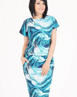 Платье с поясом платье-сарафан с карманами Ajour