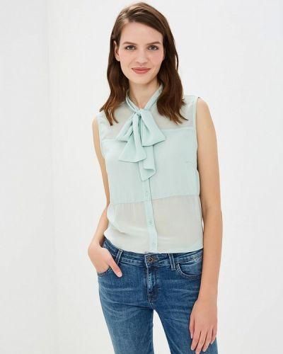 Блузка без рукавов - голубая Sh