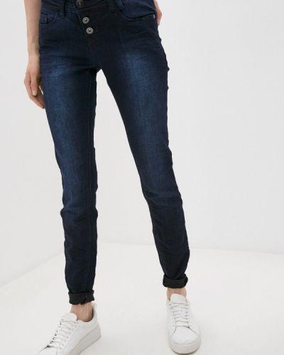 Серебряные джинсы-скинни узкого кроя Rock Angel