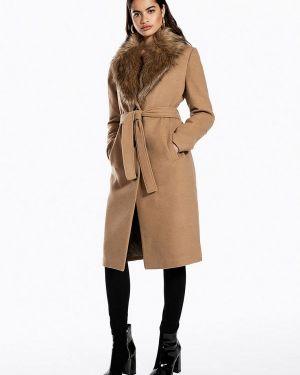 Пальто демисезонное бежевое Ivyrevel