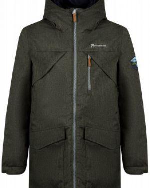 Спортивная водонепроницаемая зеленая куртка на молнии Outventure