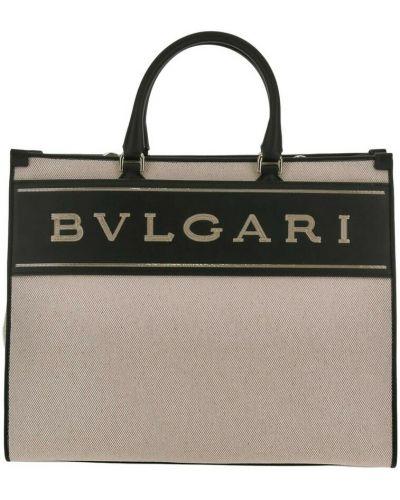 Beżowa torebka Bvlgari