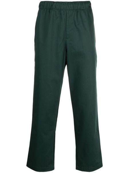 Przycięte spodnie, zielony Adidas