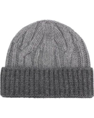 Серая вязаная шапка Tak.ori