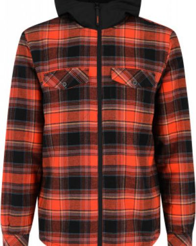 Оранжевая рубашка на молнии Merrell