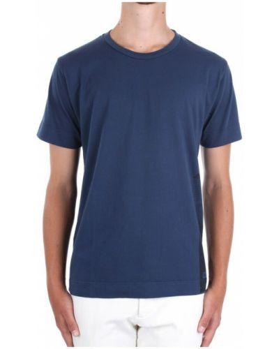 Niebieska t-shirt krótki rękaw Duno