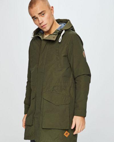 Утепленная куртка прямая нейлоновая Jack & Jones
