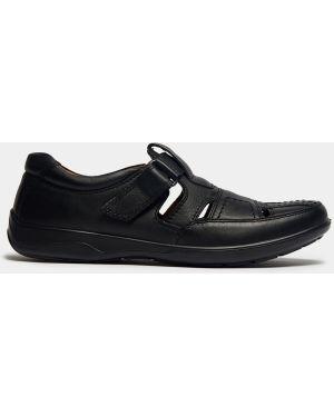 Черные кожаные городские сандалии Ralf Ringer