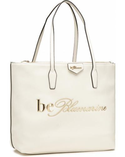 Biała klasyczna torebka Blumarine