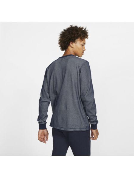 Koszula z długim rękawem klasyczny z polarem Nike