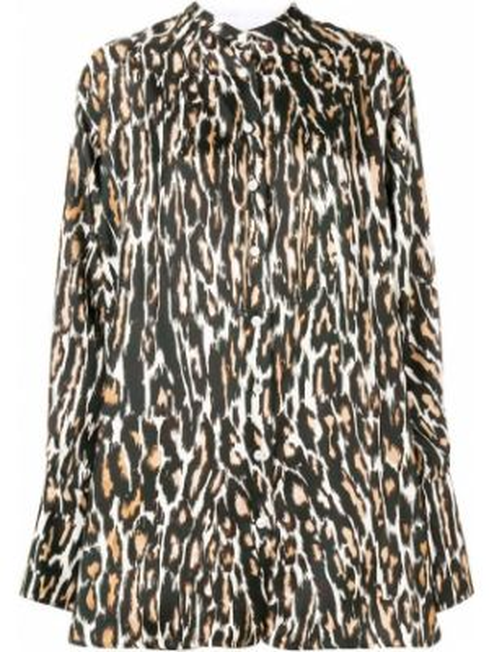Шелковая блузка - черная Calvin Klein 205w39nyc