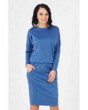 Платье с поясом на пуговицах платье-сарафан Ajour