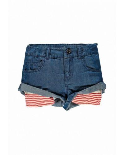 Синие шорты джинсовые Brums