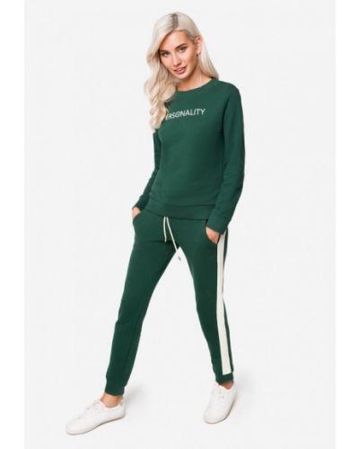 Спортивный костюм зеленый Solou