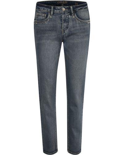 Mom jeans - szare Cream