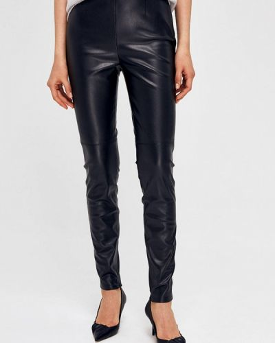 Кожаные черные брюки Lime
