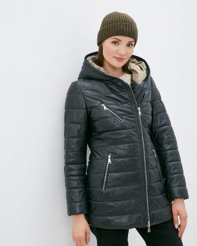 Утепленная куртка - синяя Oakwood