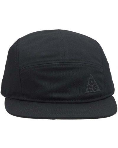 Шапка с вышивкой - черная Nike Acg