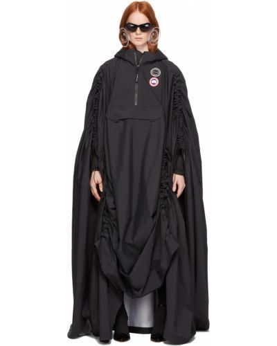 Черное пальто в полоску Y/project