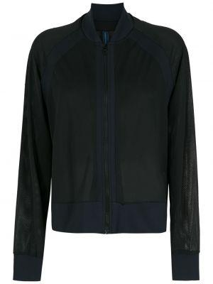 Черная куртка сетчатая Lygia & Nanny
