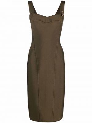 Платье миди - зеленое Versace